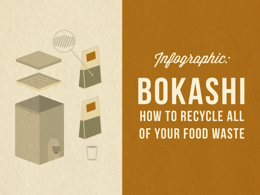 Bokashi – How to Recycle All of Your Food Waste