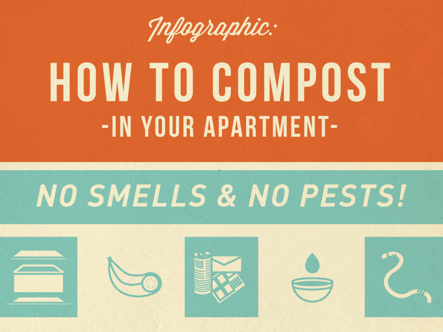 How to Compost In your Apartment | I Value Food