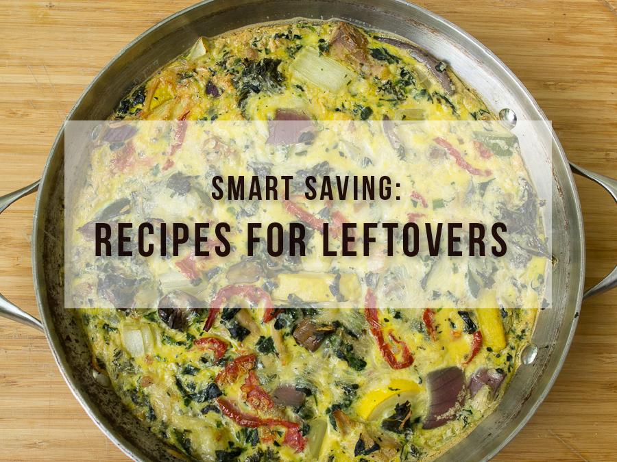 3 Recipes for Leftover Vegetables