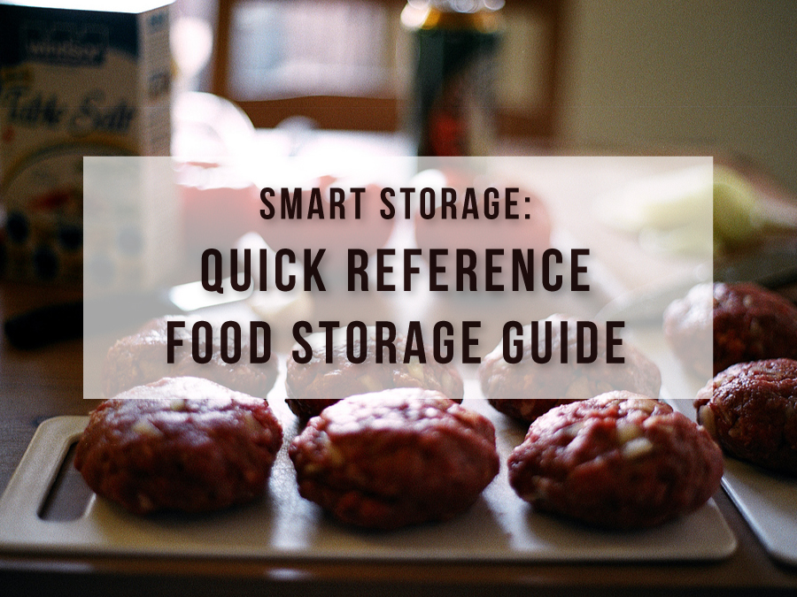 Smart Storage: Quick Reference Food Storage Guide