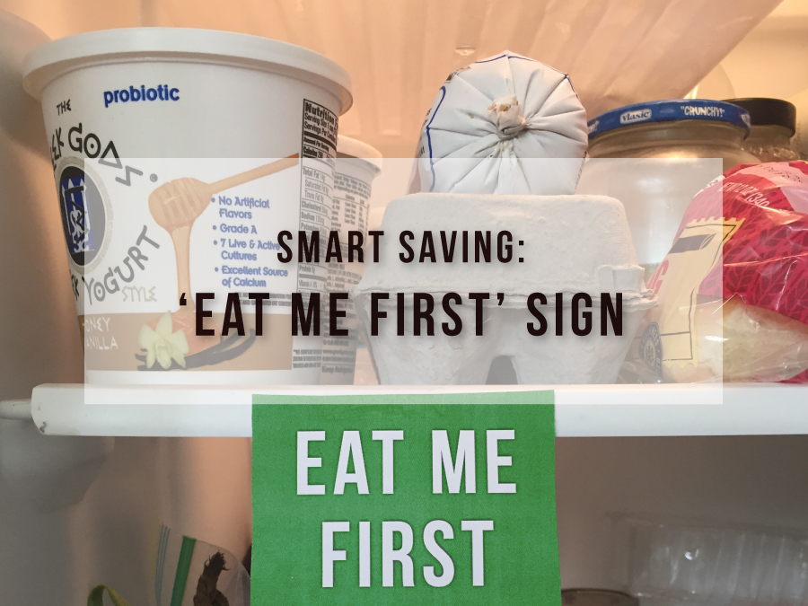 'Eat Me First' Sign